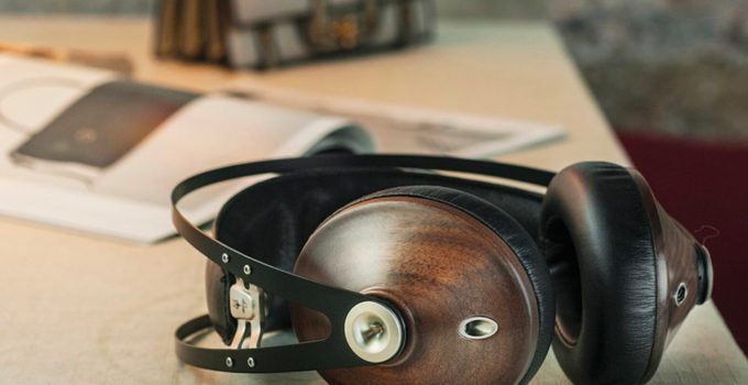 Wood Grain Headphones And Earbuds